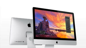 LIKE NEW IMAC! 8 GB RAM! OSx10.13 WITH WARRANTY!