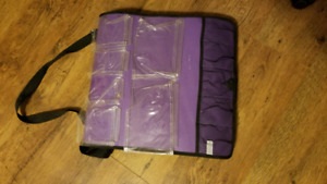 Scrapbooking roller case and portfolio bag