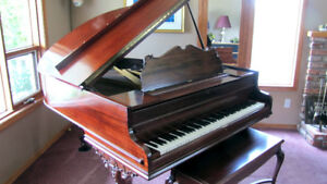 "Mason & Risch 5' 7"" Grand Piano"