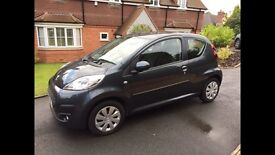 2014 PEUGEOT 107 1.0 ACTIVE 3dr A/C 60MPG METALLIC GREY ONLY 5000 MILES!!!