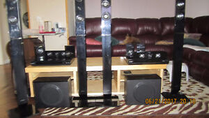 2 Samsung Surround Sound Systems w/ 3D Blue Ray