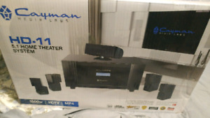 Surround sound system good for music or tv setup