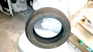 Set of 235/55/R20 winter tires for sale.