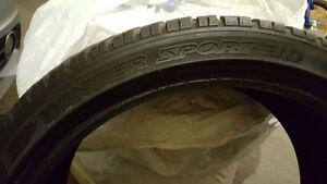 "19"" Dunlop Winter Tires (3 pcs)"