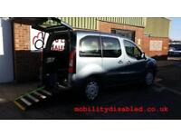 2013 Peugeot Partner Tepee Diesel Wheelchair Accessible Disabled Vehicle