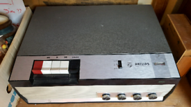 Phillips reel to reel tape player