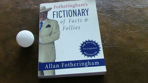 Fotheringham's Fictionary of Facts & Follies, Allan Fotheringham Kitchener / Waterloo Kitchener Area image 1