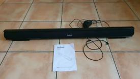 Goodmans soundbar with remote REDUCED TO £10
