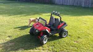 12volt peg perego polaris rzr900 electric