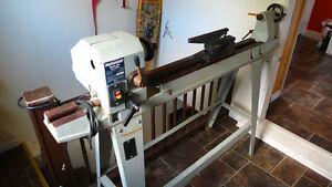 "36"" Wood Lathe with tools"