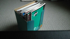 Lot of 24 assorted HILROY lined sheets notebooks NEW