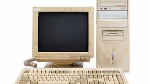 Looking for old PC's