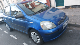 Toyota Yaris 1 litre very reliable ideal for delivery or new driver