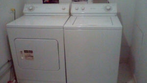 Whirlpool washer and dryer pair