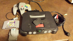 Nintendo N64 console package
