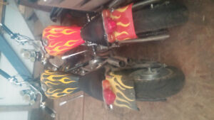 2 mini choppers they both r in good shape