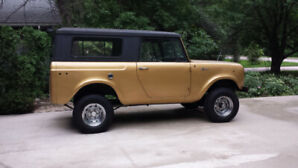 1966 International Scout 800 Hardtop (convertible)