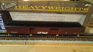 HO Scale Model Train Walthers HeavyWeight CP MOW Baggage Car NEW