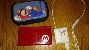 *TESTED, WORKING* Red Mario DS, Case, Charger, Games Kitchener / Waterloo Kitchener Area image 1