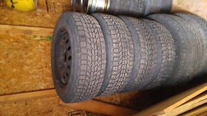 185/65r15 winter tires on steel 4x108 rims