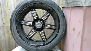 """gmc 6bolt 22"""" rims and tires"""