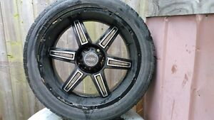 "gmc 6bolt 22"" rims and tires"