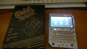 PocketCHIP Linux Portable Computer with HDMI adapter