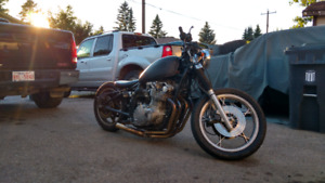 "1979 gs1000 ""bobber"" and parts bike."