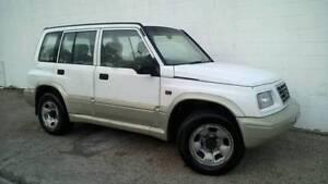 1997 Suzuki Vitara Estate 4x4 5-speed NOV-REGO Wagon Kirrawee Sutherland Area Preview