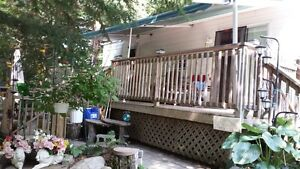 Park Model Trailer on Semi Private Lot in Muskoka-REDUCED