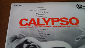 LP: Calypso, Wilmoth Houdini Orchestra Bert McLean's Jazz Hounds Kitchener / Waterloo Kitchener Area image 1