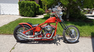 Professionally Built Custom Chopper - trade for ATV or SxS