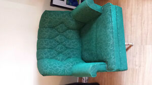 Vintage Green Rocker Chair