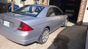2002 civic need gone by Sept 29th 3500 obo