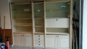 Wall Unit or Display Cabinet.