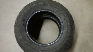 GREAT USED 215 70 15 GOODYEAR NORDIC SNOW TIRES 2 ONLY