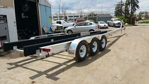 Tri axle boat trailers pre order sale on now save $$$$$$