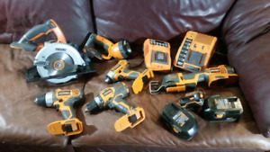 BIG RIDGID TOOL BUNDLE
