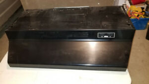 "Used Broan 30"" Black Range Hood"