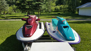 Seadoo's and trailer for sale or trade.