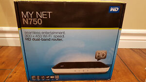 Wireless Router Dual-Band Router With 4 port Gigabit
