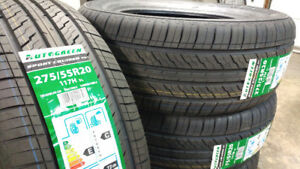 New 275/55R20 all season tires, $690 for 4