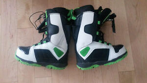 """New - Sims """"Easy Tie"""" Snow Board Boots Size- Youth 2.5"""
