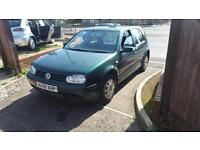 Volkswagen Golf 1.6 2001 SE 5 door hatchback