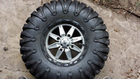 30X10XR14 MotoClaw Tires and M-18 Rims