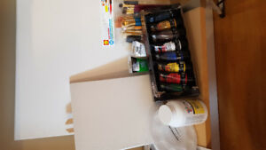 painting kit fun for 30$
