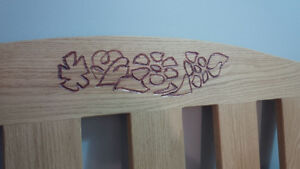 Handcrafted Deacon Bench - NEW Kitchener / Waterloo Kitchener Area image 3