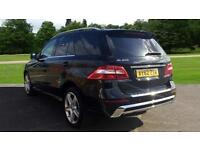 2012 Mercedes-Benz M-Class ML250 CDi BlueTEC Sport AWD 5d Automatic Diesel Estat