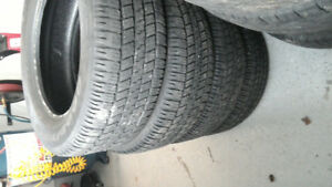Selling four used Goodyear Wrangler SR-A P275/60R20