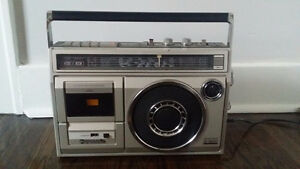 Vintage Panasonic Short Wave Stereo Boom Box + Free Delivery